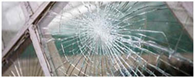 Plymstock Smashed Glass